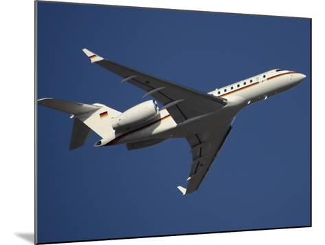 A Bombardier Global 5000 VIP Jet of the German Air Force-Stocktrek Images-Mounted Photographic Print
