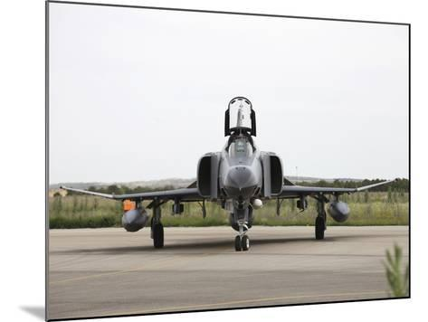 Front View of a Turkish Air Force F-4E Phantom-Stocktrek Images-Mounted Photographic Print