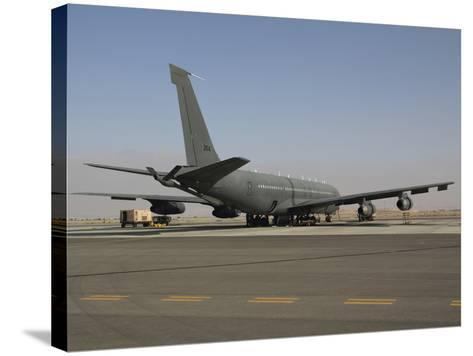 A Boeing 707 Re'em of the Israeli Air Force-Stocktrek Images-Stretched Canvas Print