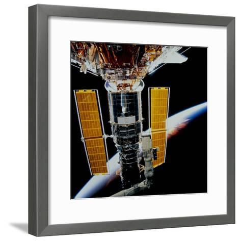 Hubble Space Telescope-Stocktrek Images-Framed Art Print