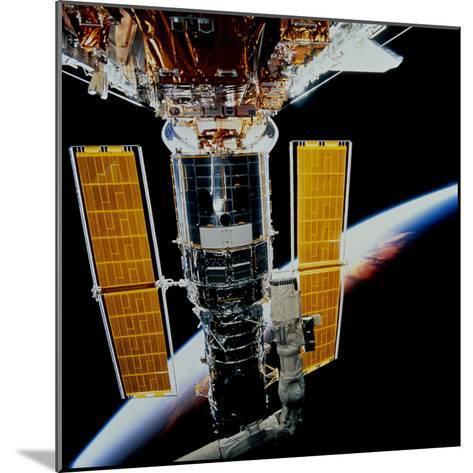Hubble Space Telescope-Stocktrek Images-Mounted Photographic Print