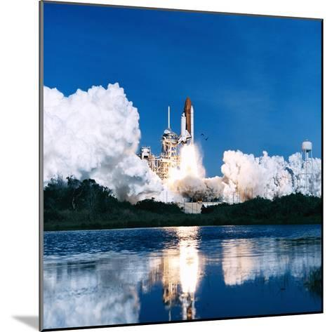 Space Shuttle Launch-Stocktrek Images-Mounted Photographic Print