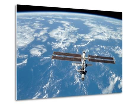 International Space Station-Stocktrek Images-Metal Print