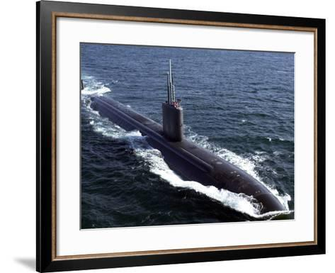 USS Tucson-Stocktrek Images-Framed Art Print