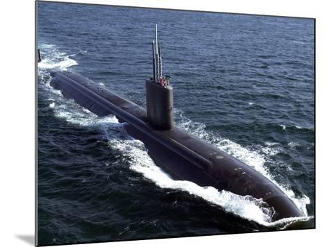 USS Tucson-Stocktrek Images-Mounted Photographic Print