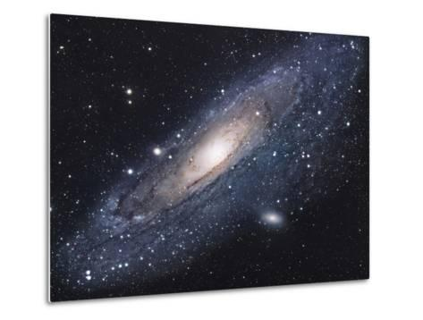 The Andromeda Galaxy-Stocktrek Images-Metal Print