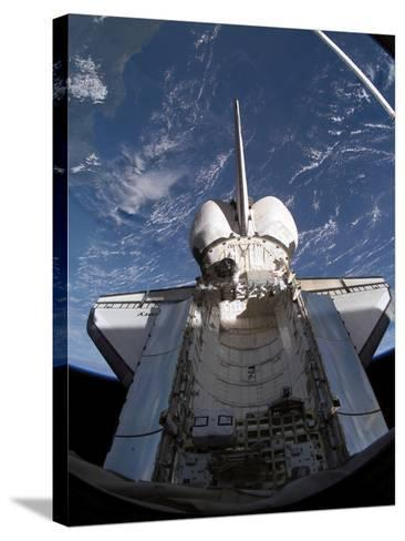 Space Shuttle Discovery-Stocktrek Images-Stretched Canvas Print