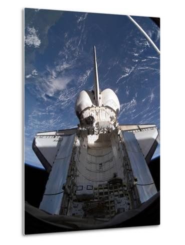 Space Shuttle Discovery-Stocktrek Images-Metal Print