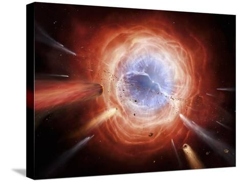 A Planetary Nebula Is Forming As the Star Expells Its Outer Layers-Stocktrek Images-Stretched Canvas Print