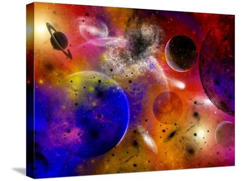 Dimensional Universes Meet, And Portals To Them Open-Stocktrek Images-Stretched Canvas Print