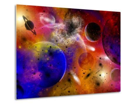 Dimensional Universes Meet, And Portals To Them Open-Stocktrek Images-Metal Print