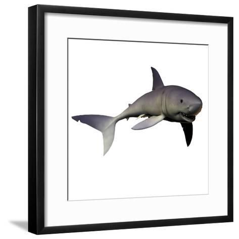 Mako Shark-Stocktrek Images-Framed Art Print