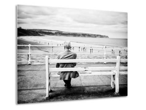 An Old Man & the Sea-Rory Garforth-Metal Print