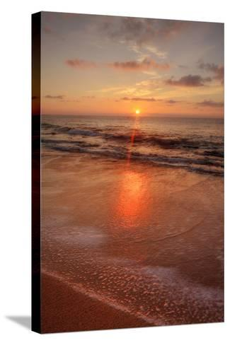 Sunrise on the Eastern Shore of Kauai-Vincent James-Stretched Canvas Print