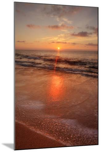 Sunrise on the Eastern Shore of Kauai-Vincent James-Mounted Photographic Print