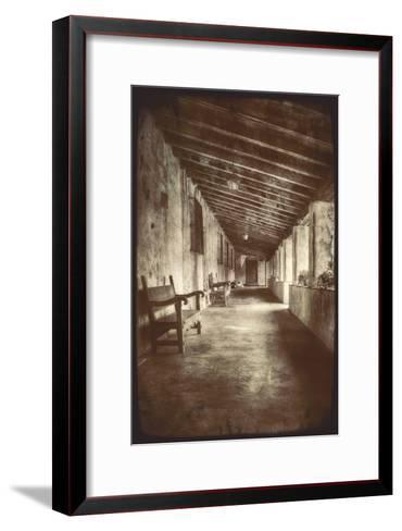 Mission Walk-Vincent James-Framed Art Print