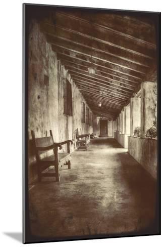 Mission Walk-Vincent James-Mounted Photographic Print