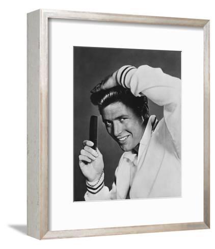 Edd Byrnes - 77 Sunset Strip--Framed Art Print