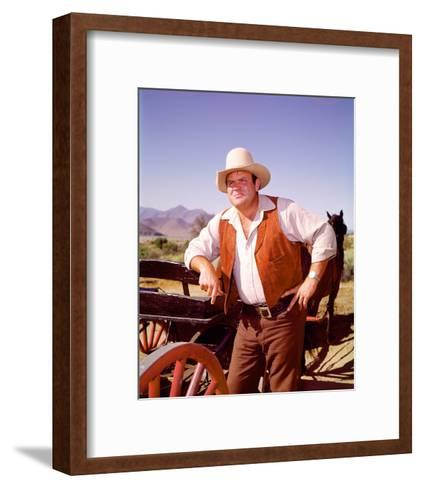 Dan Blocker - Bonanza--Framed Art Print