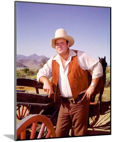 Dan Blocker - Bonanza--Mounted Photo