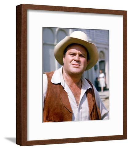 Dan Blocker - Bonanza--Framed Art Print