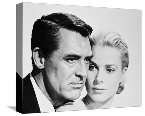 Cary Grant & Grace Kelly--Stretched Canvas Print