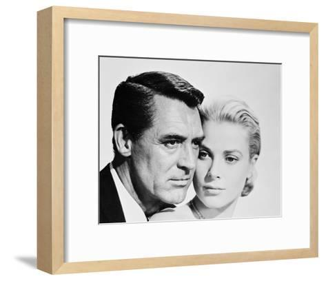 Cary Grant & Grace Kelly--Framed Art Print