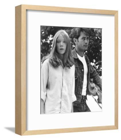 Badlands--Framed Art Print
