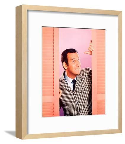 Don Adams - Get Smart--Framed Art Print