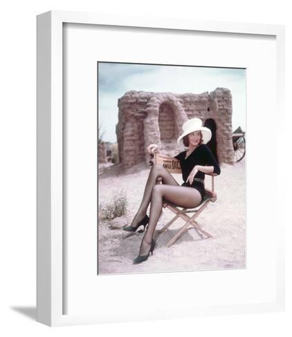 Angie Dickinson - Rio Bravo--Framed Art Print