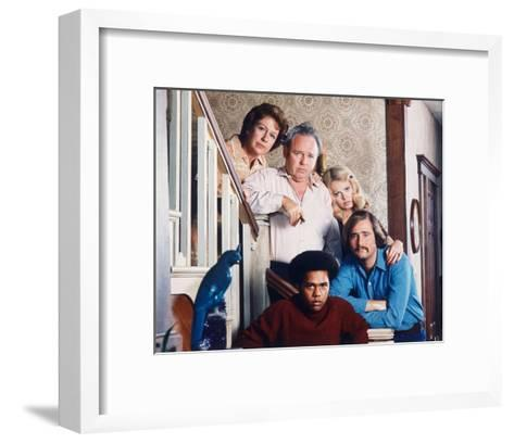 All in the Family--Framed Art Print