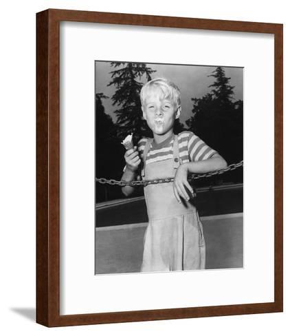 Dennis the Menace--Framed Art Print