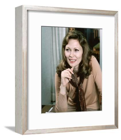 Faye Dunaway - Network--Framed Art Print