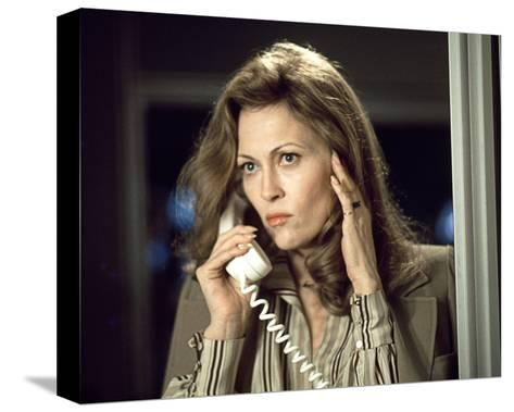 Faye Dunaway - Network--Stretched Canvas Print