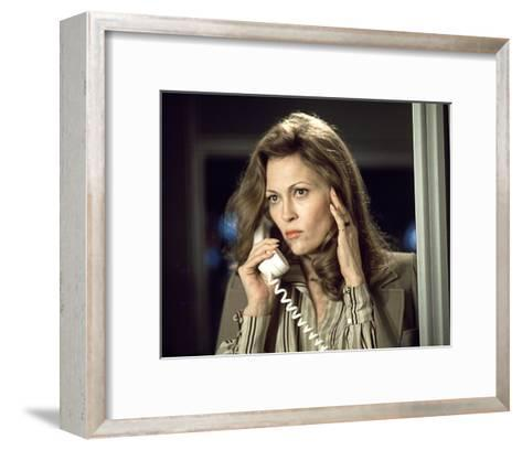 Faye Dunaway - Network--Framed Art Print