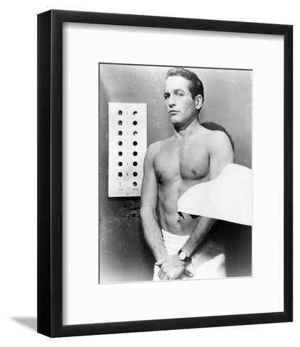 Paul Newman - The Prize--Framed Art Print