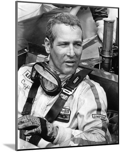 Paul Newman - Winning--Mounted Photo