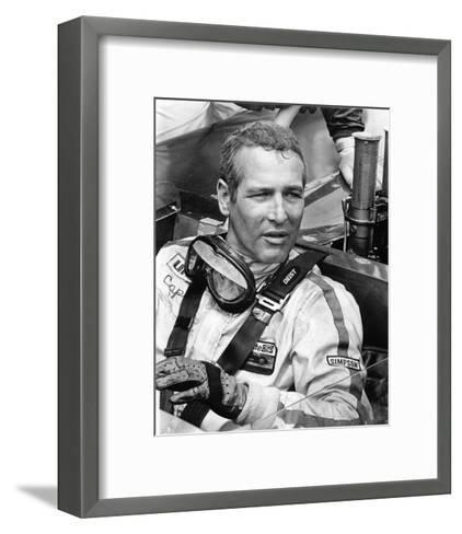 Paul Newman - Winning--Framed Art Print