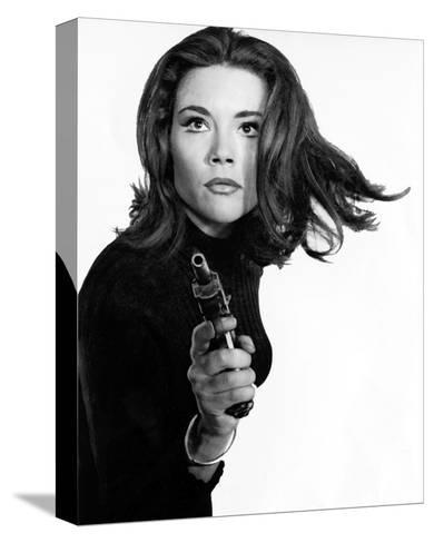 Diana Rigg--Stretched Canvas Print
