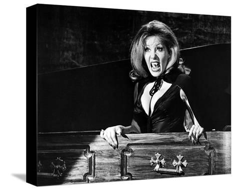 Ingrid Pitt - The House That Dripped Blood--Stretched Canvas Print
