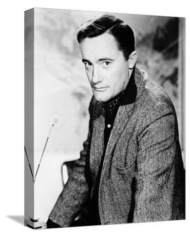 Robert Vaughn - The Man from U.N.C.L.E.--Stretched Canvas Print