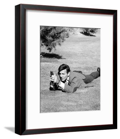 Mike Connors - Mannix--Framed Art Print