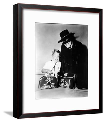 Guy Williams - Zorro--Framed Art Print