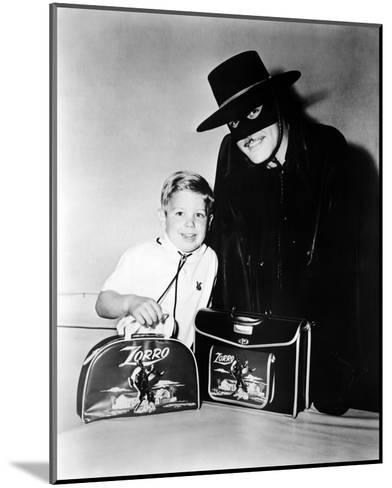 Guy Williams - Zorro--Mounted Photo