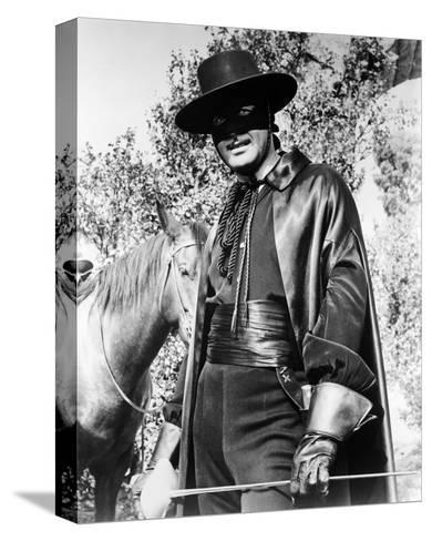 Guy Williams - Zorro--Stretched Canvas Print