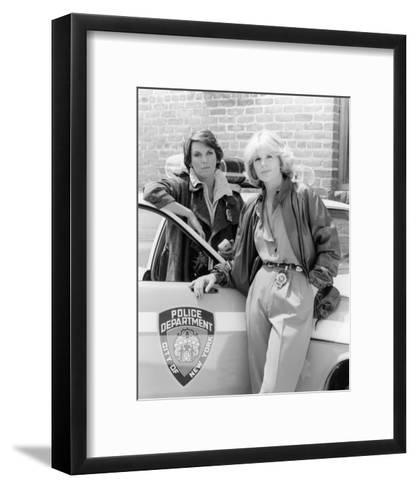 Cagney & Lacey--Framed Art Print