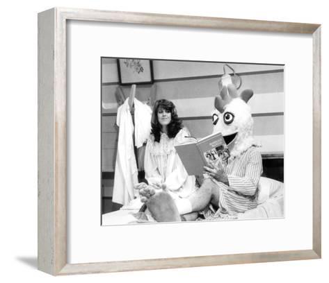 Mork & Mindy--Framed Art Print