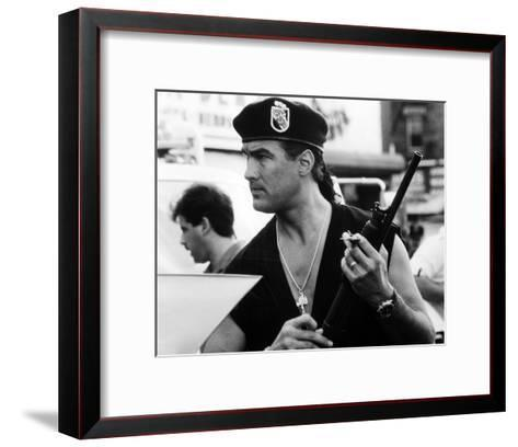 Steven Seagal - Out for Justice--Framed Art Print