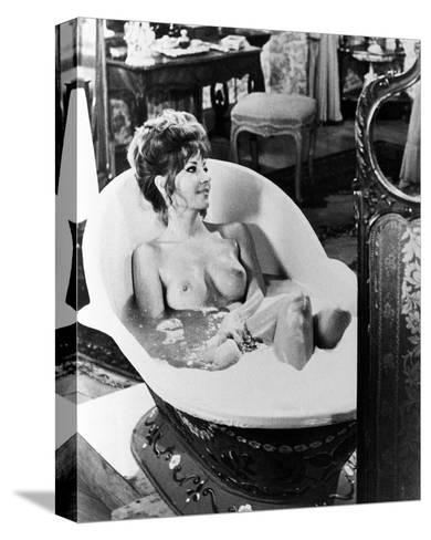 Ingrid Pitt - Countess Dracula--Stretched Canvas Print
