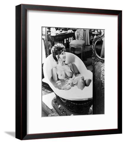 Ingrid Pitt - Countess Dracula--Framed Art Print